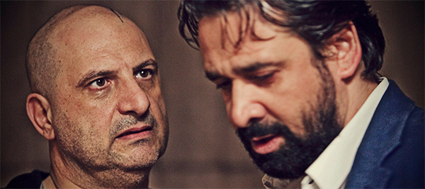 "Khaled El Sawy & Kareem Abdel Aziz in ""The Blue Elephant"""