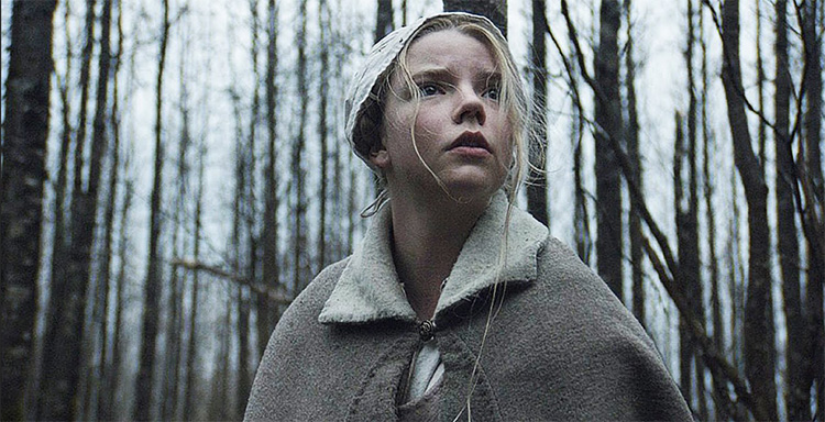 Anya Taylor-Joy is Thomasin in The Witch