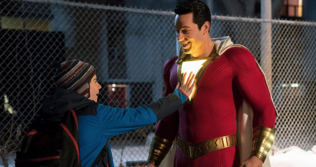 Shazam discovers his powers