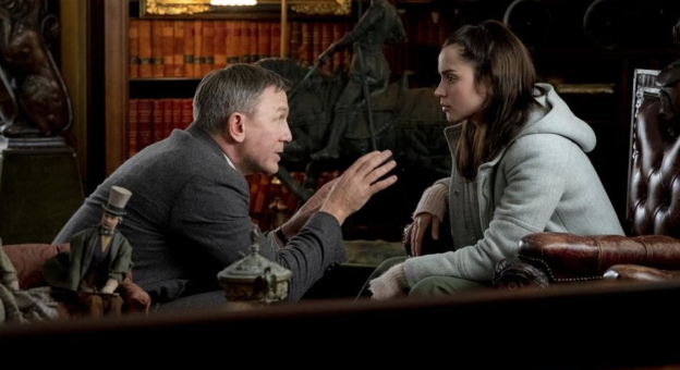 "Ana De Armas and Daniel Craig star in ""Knives Out"""